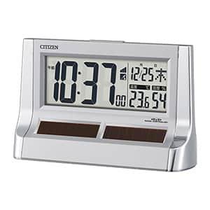 シチズン デジタル電波時計 パルデジットソーラーR128