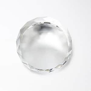 光学ガラス製 ダイヤカットペーパーウエイト