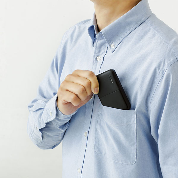 軽量モバイルバッテリー 5000mAh