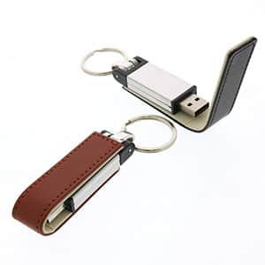 【受注生産】レザー調USBメモリ 4GB