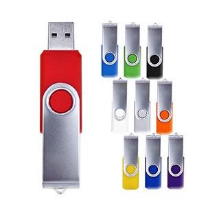 【受注生産】回転型USBメモリ 4GB