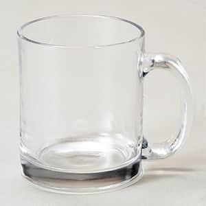 ガラス製マグカップ