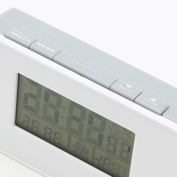 電波目覚し時計