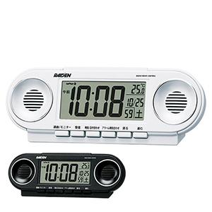 セイコータイムクリエーション社製 ライデン 電波目覚まし時計 NR531