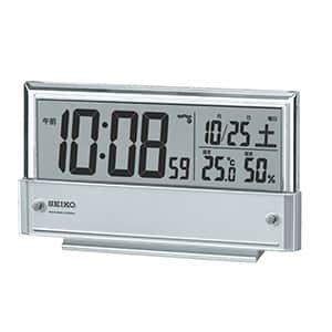 セイコー 温湿度表示付き電波時計 SQ773S