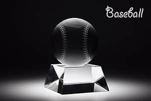 スポーツトロフィーL 野球