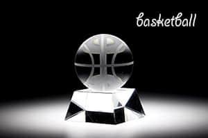 スポーツトロフィーS バスケット