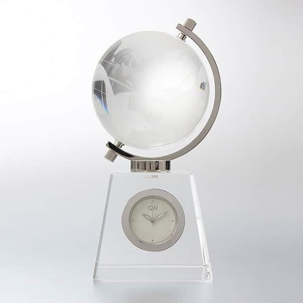 正確な地球儀って意外と無いの知ってました?NARUMI グラスワークス 地球儀時計