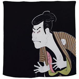丹後ちりめん浮世絵ふろしき 二巾