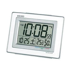 セイコー 温湿度計付電波時計 SQ686