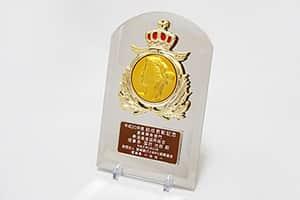メダル付盾 女神 VSX.5550A