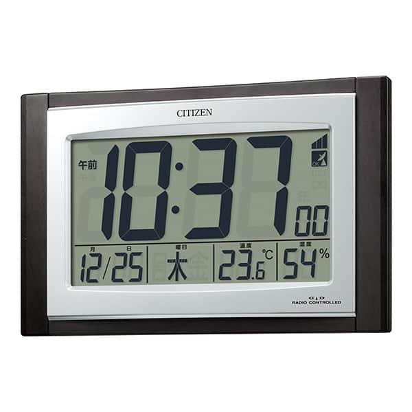 安定した人気を誇るシチズンの電波目覚まし時計 パルデジットコンビR096